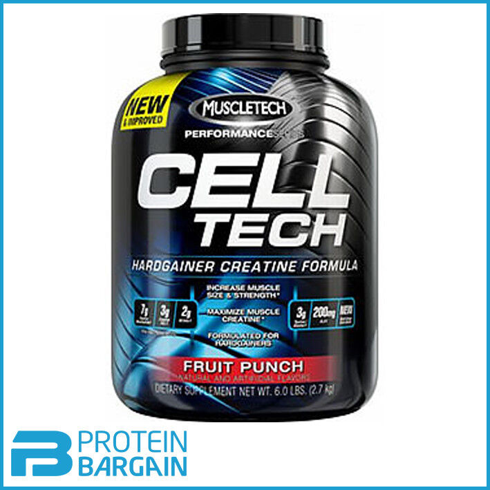 muscletech cell tech 2.7kg per... Image 0