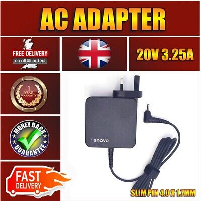 Compatible IBM 65W UK AC Power Adapter Charger Flex 4-1470 80SA0001US 80SA segunda mano  Embacar hacia Spain