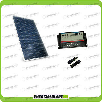 Kit placa solar panel fotovoltaico 200W 12V Regulador de carga 20A REGDUO...