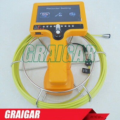 Sewer Survey Inspection Camera System Video Recording Picture Snap 710d-scj