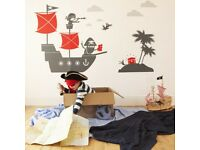 Brand new Pirate wall stickers