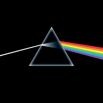 Pink Floyd - Dark Side of the Moon - 40 x 40cm Album Cover Canvas Print DC95016C