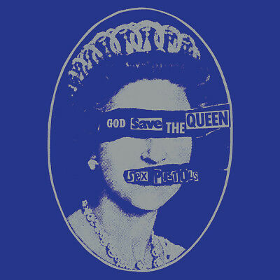 Sex Pistols - God Save the Queen- 40cm x 40cm Album Cover Canvas Print DC101018C