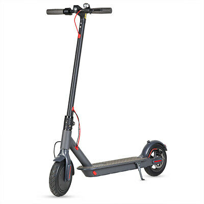 Patinete electrico plegable Bluetooth 350w bateria Litio 36v 25Km/h color negro