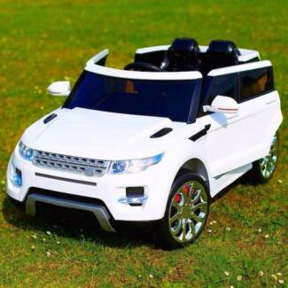 Range Rover Sports Kids Electric Ride On Car - White