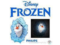 BRAND NEW 10PCS AVAILABLE - DISNEY PRINCESS FROZEN OLAF KIDS 3D WIRELESS BEDROOM WALL NIGHT LIGHT