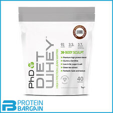 PHD Nutrition Diet Whey 1kg High Protein Lean Matrix Weight Loss Shake