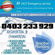 REACTIVE PLUMBING SERVICES Pitt Town Hawkesbury Area Preview