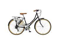Vintage retro style brand new Viking gazette hybrid ladies road bike