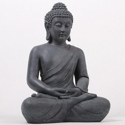 XXL 50 cm Riesige Deko Asien Garten BUDDHA Figur Statue Skulptur FENG SHUI NEU