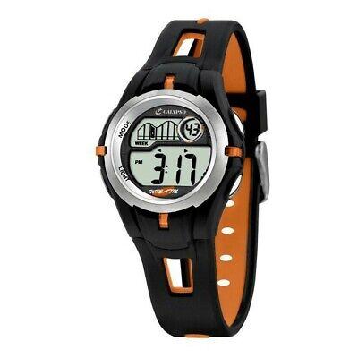 Calypso para niño negro y naranja diámetro 32 mm reloj digital K5506/2