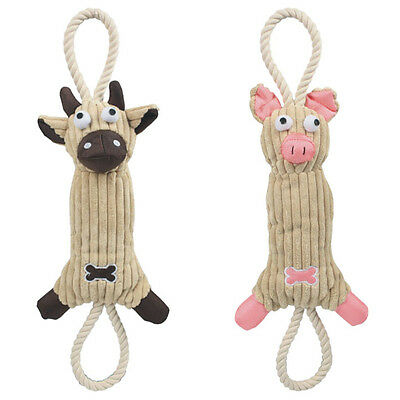 - Eco-Friendly Tough Jute Rope Chew Plush Pet Dog Toy Toys