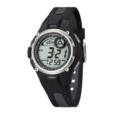 Reloj digital K5558/6 Calypso para niño en color gris y negro