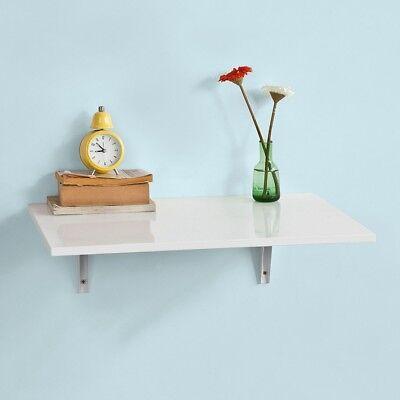 SoBuy®Mesa de cocina,mesa plegable de pared,60x40cm,blanco,FWT21-W,ES