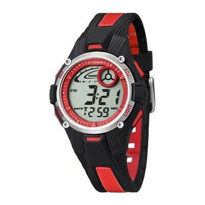 Reloj Calypso digital para niño en color rojo y negro K5558/5