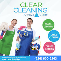 Clear Cleaning Services Home/Office/Carpet Cleaning