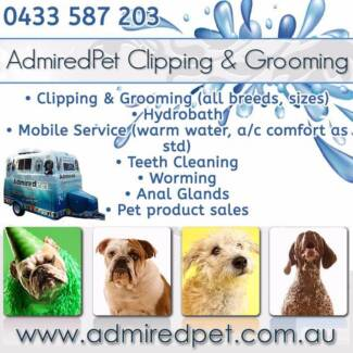 ADMIRED PET CLIPPING AND GROOMING