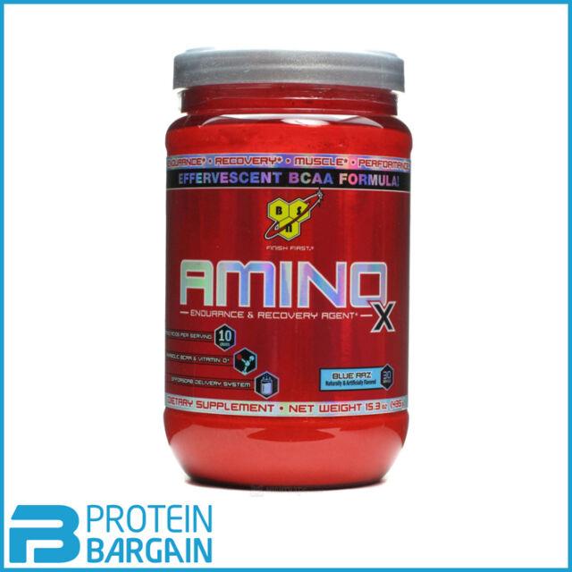 BSN Amino X 435 Gram Amazing BCAA, Energy, Amino Acids, All Flavours
