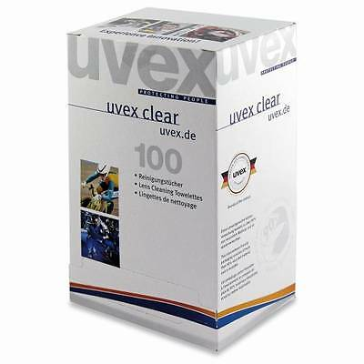 - Uvex Lens / Safety Glasses Cleaning Towelettes / Wipes - 9963.000