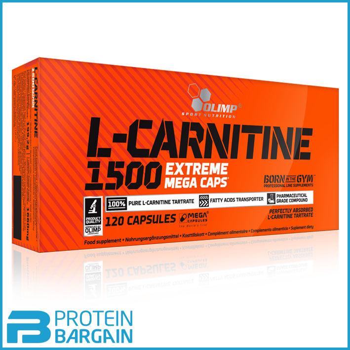 Olimp L Carnitine 1500 Extreme Mega Caps Diet Pills Weight Loss Fat Burner
