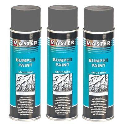 Plastik Strukturspray Bumper Paint Grau 3 x 500ml Strukturlack Troton Kunststoff, gebraucht gebraucht kaufen  Berlin