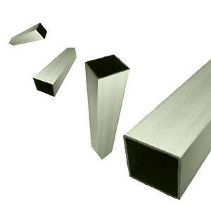 carr tube en aluminium section boite tube. Black Bedroom Furniture Sets. Home Design Ideas