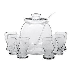 Bohemia Cristal 9-teilig Glas Bowleset