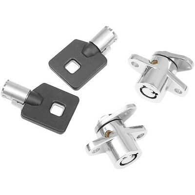 Drag Specialties Tour-Pak Lock with Key for 1992-13 Harley 3516-0199