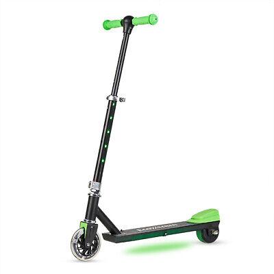Patinete electrico plegable 100w scooter con luces led ideal para niños niñas