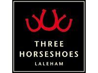 Waiting Staff - Gastro Pub - Laleham, near Staines, Middlesex - £7.50/hr + Tips