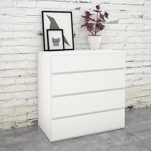 LIQUIDATION Commode 4 tiroirs Blanc. Quelques unites disponibles.