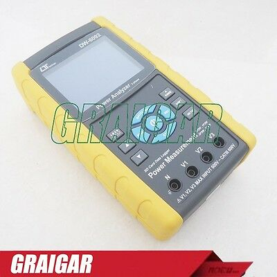 Lutron Dw-6092 Three Phase Power Meter Analyzer Tester Real Time Data Logger New