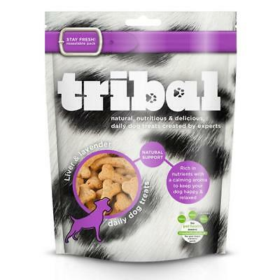 TRIBAL LIVER LAVENDER Calming Treats Premium Dog GF Natural Eye Health Biscuits