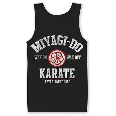 Karate Kid Mister Miyagi Do Est. 1984 Dojo Männer Men Tanktop Tank Top Shirt - Mister Miyagi