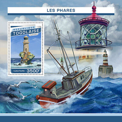 TOGO 2016 LIGHTHOUSE ARCHITECTURE LIGHTHOUSES S/S TG16518