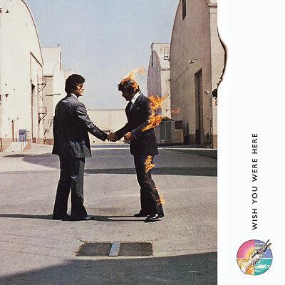 Pink Floyd - Wish You Were Here - 40cm x 40cm Album Cover Canvas Print DC95987C