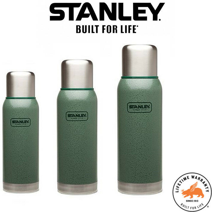 Stanley Adventure Stainless Steel Vacuum Bottle Hammertone Green - Thermos Flask
