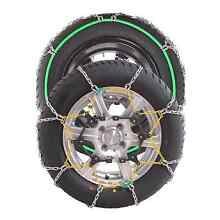 New Car 4x4 Snow Chains 6mm Quick Fit Twisted Diamond Pattern Sydney City Inner Sydney Preview