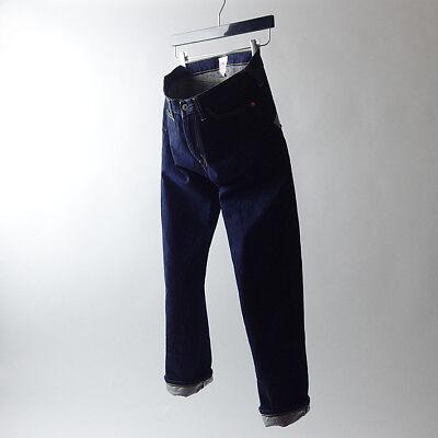 COMME des GARCONS JUNYA WATANABE MAN pink_Navy x Flower pattern Jeans_M_AD2013