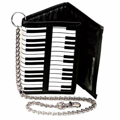 Teclado de Piano Teclado Cartera Plegable con Cadena - Música Retro Regalos