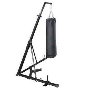 FREE STANDING BOXING BAG STAND PUNCHING PUNCH CHIN PULL UPS BAR