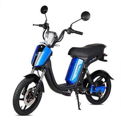 Bicicleta electrica E-Bike Miami 250w bateria Litio 48v 12Ah 25Km/h Negra y...