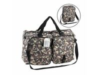 Brand New Travel Genie Holdall Camouflage