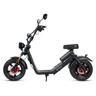 Moto electrica scooter matriculable 1200w bateria chopper Caigiee en oferta !!