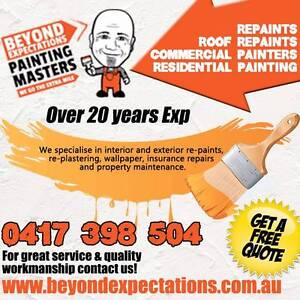 Beyond Expectations Painting & Plastering Masters Highton Geelong City Preview