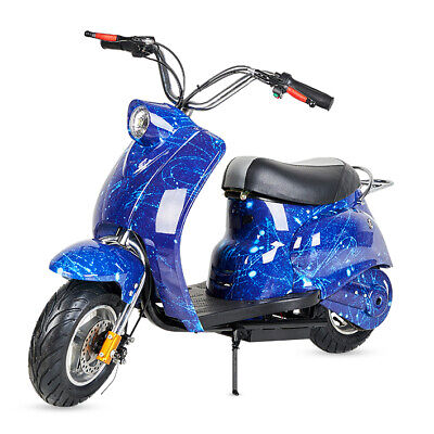 Mini moto electrica Vespa 500w bateria 36v-12a infantil niños niñas en 2...