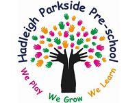 Hadleigh parkside pre-school