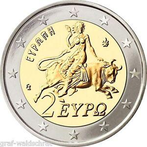 2 euro grecia a partir del 2002 todos los a os unc libre. Black Bedroom Furniture Sets. Home Design Ideas