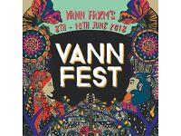 Vann Fest, 8th - 10th June, Surrey