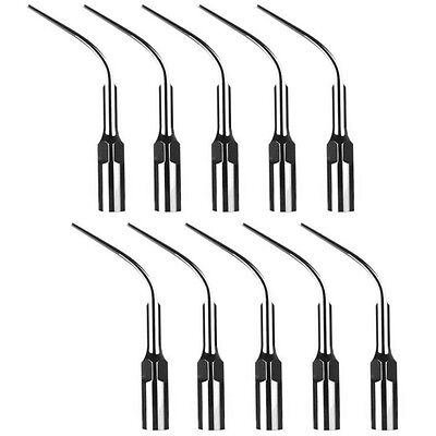 10 X Dental Ultrasonic Scaler Perio Scaling Tip P3 For Emswoodpecker Handpiece